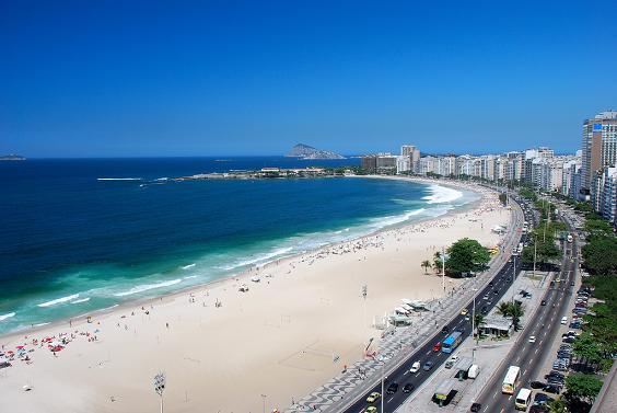 playa de Copacabana